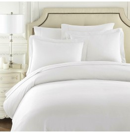 5 x 100% COTTON PERCALE DUVET COVER (HOTEL STYLE) DOUBLE