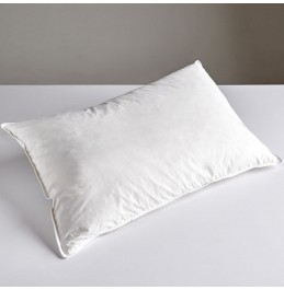 GOOSE DOWN AND FEATHER PILLOW 100% COTTON COVER