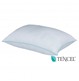 LUXURY TENCEL PILLOW 100% COTTON COVER FIRM
